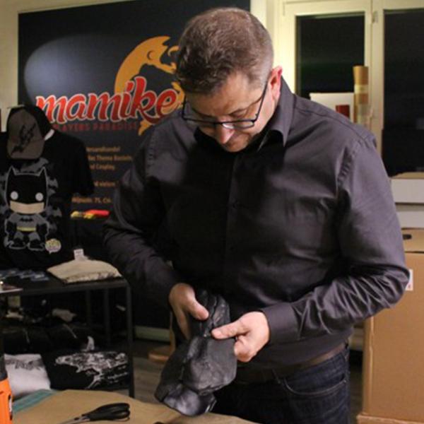 Artymus.Garage at work with worbla